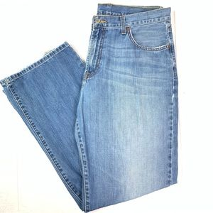 Lucky Brand jeans boot cut zip fly mens 36 Reg VTG